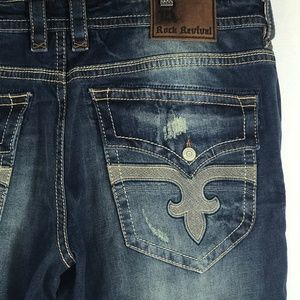 Rock Revival Ted Straight leg Jeans